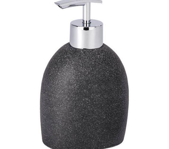 Wenko Επιτραπέζιο Dispenser Πλαστικό 295ml Μαύρο Puro 220241121