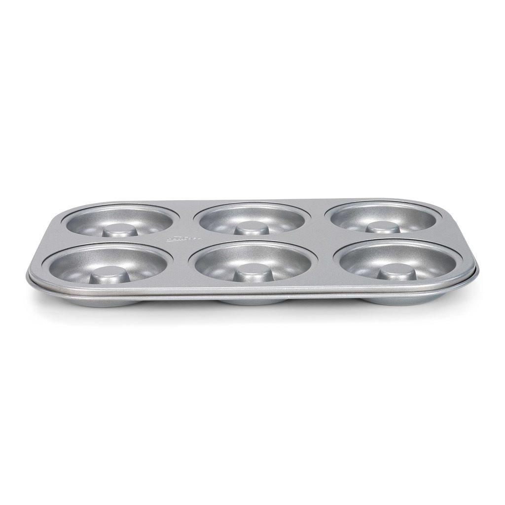Patisse Φόρμα για 5 Donuts Αντικολλητική Silvertop - 32X22cm