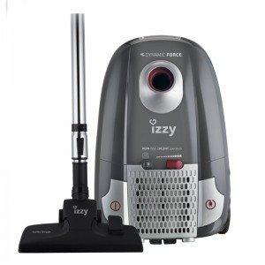 Izzy Ηλεκτρική Σκούπα 800W 77db με Σακούλα 4lt Dynamic Force K1 με Φίλτρο Σκόνης HEPA13