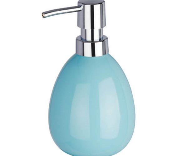Wenko Επιτραπέζιο Dispenser Κεραμικό 390ml Μπλε Polaris 224191121