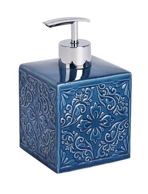 Wenko Επιτραπέζιο Dispenser Κεραμικό Μπλε Cordoba 226531121