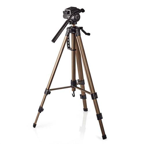 NEDIS Τρίποδας αλουμινίου για φωτογραφικές μηχανές και βιντεοκάμερες, TPOD2300BZ