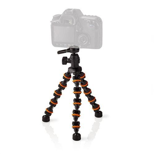 NEDIS Μίνι επιτραπέζιος τρίποδας με εύκαμπτα πόδια για φωτογραφικές, GPOD3200BK