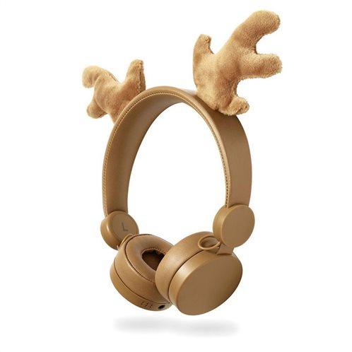 NEDIS On-ear ενσύρματα ακουστικά NEDIS Animaticks Rudy Reindeer, HPWD4000BN