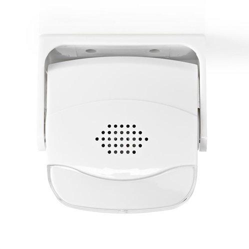NEDIS Ανιχνευτής κίνησης θύρας εισόδου με ηχητική ειδοποίηση, 80 dB, AMLRMMW40WT