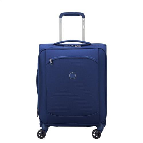 Delsey Βαλίτσα καμπίνας slim 55x40x20cm expandable Montmartre Air Blue
