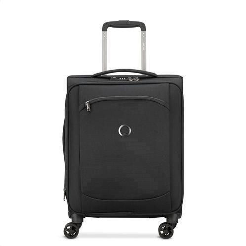 Delsey Βαλίτσα καμπίνας slim 55x40x20cm expandable Montmartre Air Black