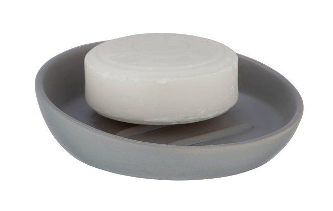 Wenko Σαπουνοθήκη Επιτραπέζια Κεραμική Γκρι Badi 23649100