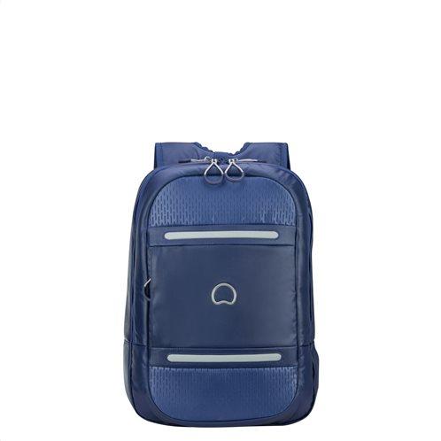"""Delsey Τσάντα πλάτης 45x32x17cm Montsouris για PC 15.6"""" Blue"""
