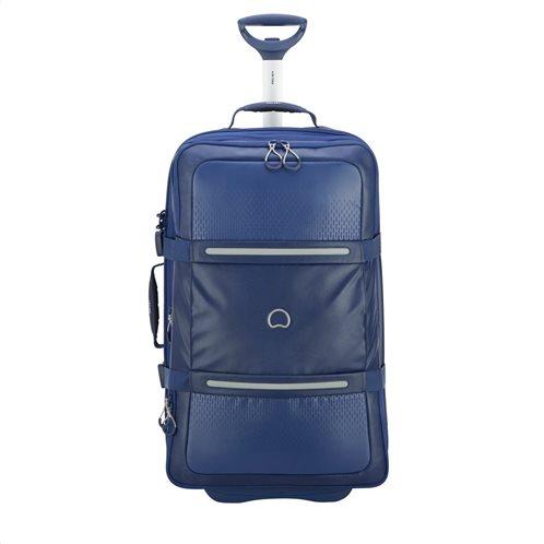 Delsey Βαλίτσα μεσαίο μέγεθος 69,5x40,5x29,5cm 2 ρόδες expandable σειρά Montsouris Dark Blue