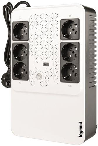 Legrand Σύστημα UPS Surge Arrest Keor Multiplug 600VA 310081