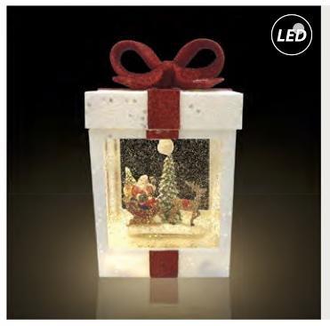 Fos Me Συσκευασία Δώρου Κουτί Λευκό Led 27-00919