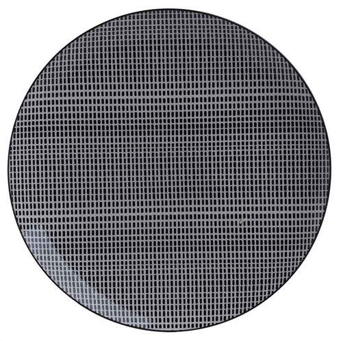 Inart Πιάτο Σετ Των 12 3-60-508-0003