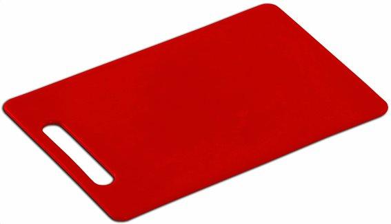 Βάση Κοπής Κόκκινη 34X24X0,6cm