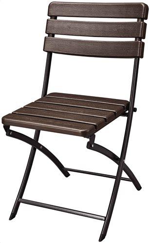 Campus Καρέκλα Catering  Απομίμηση Ξύλου 40x36,7x81 cm