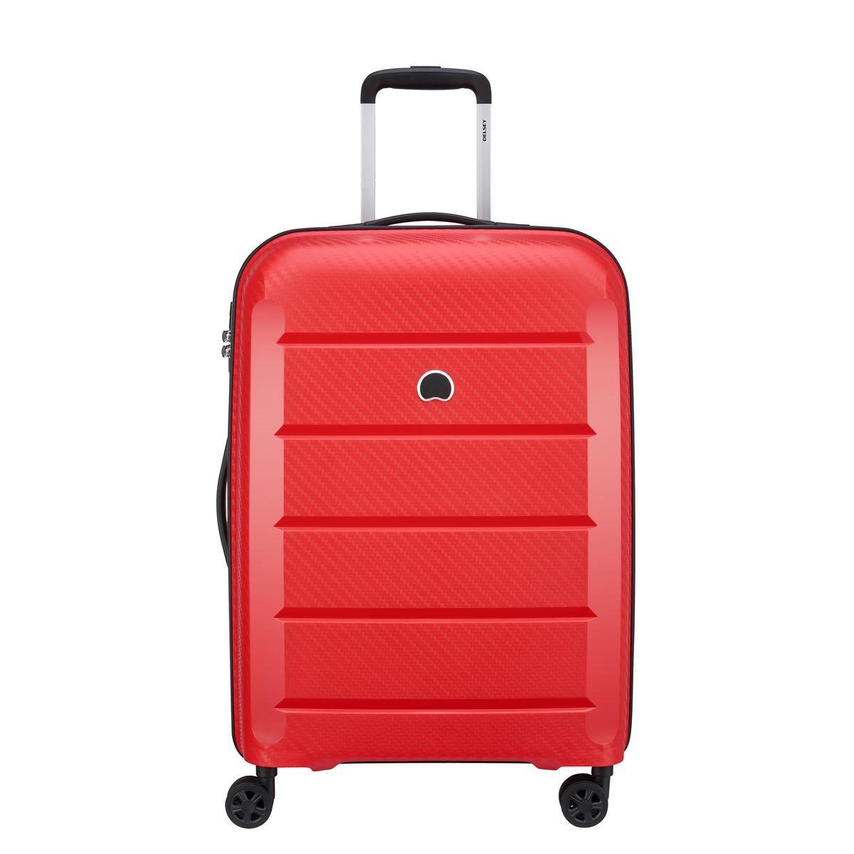 Delsey Βαλίτσα μεσαία 66x45x26.5cm σειρά Binalog Red