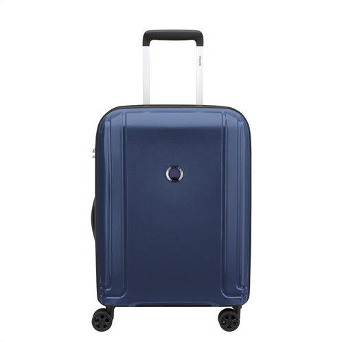 Delsey Bαλίτσα Kαμπίνας Τrolley 55x38x19cm Brisban Blue