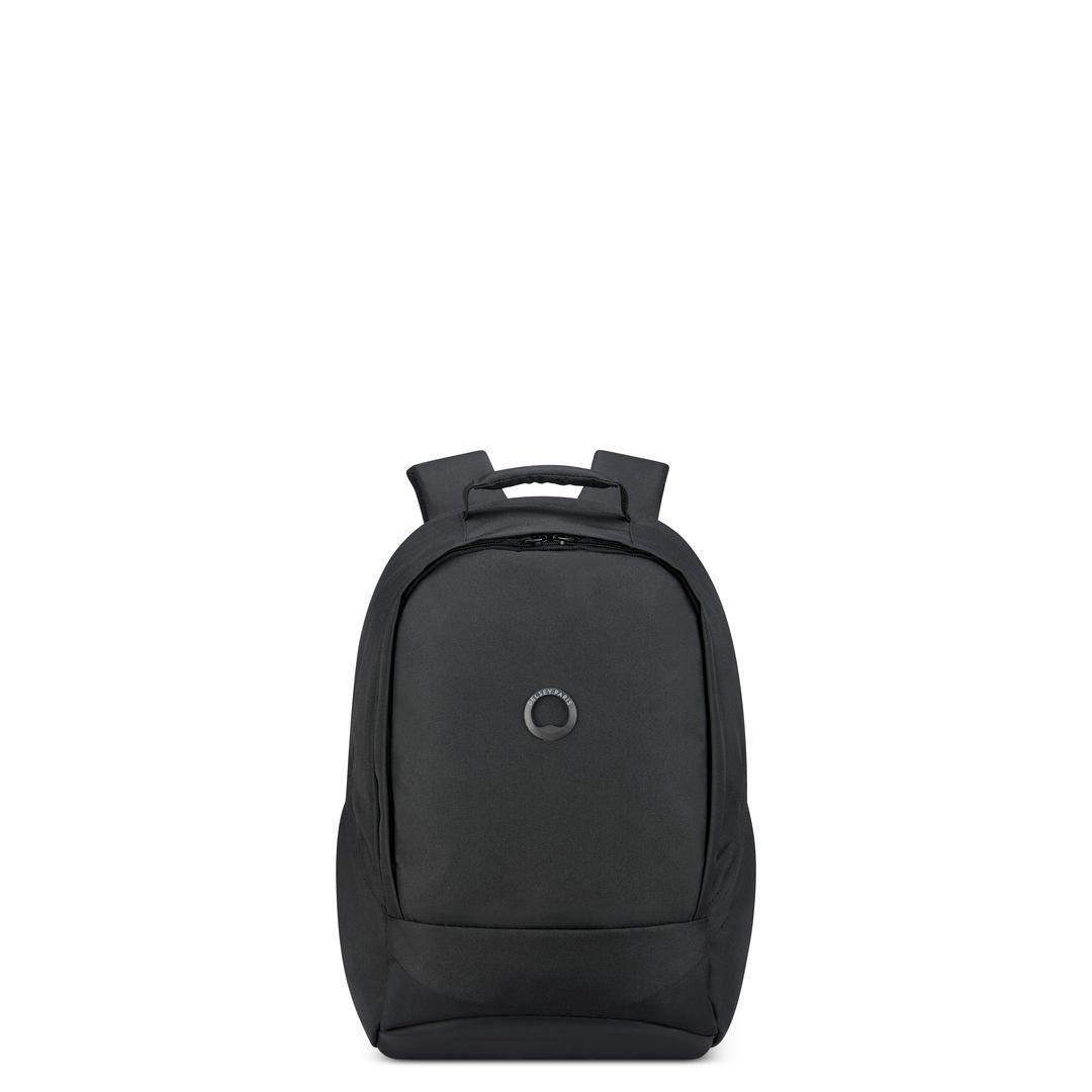 Delsey Σακίδιο πλάτης με θέση PC 13,3  45,5x29,5x16,5cm σειρά Securban Μαύρο