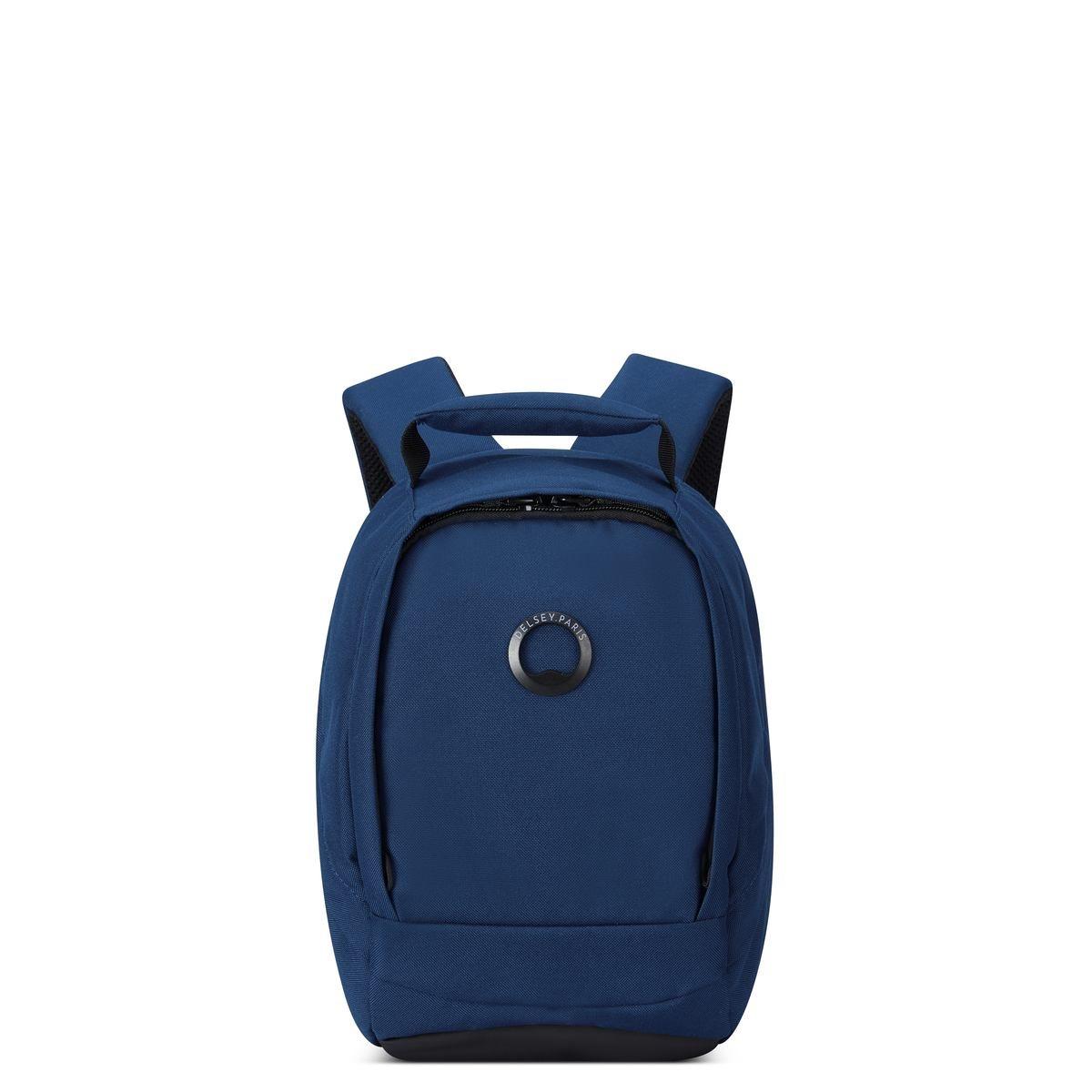 Delsey σακίδιο πλάτης 30.5x21.5x14.5cm Securban Micro Dark Blue