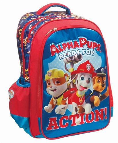 Paw Patrol Σχολική Τσάντα Πλάτης Δημοτικού Boy Alpha Pups GIM
