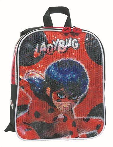 GIM Τσάντα Νηπιαγωγείου Διπλής Όψης Ladybug Super Her