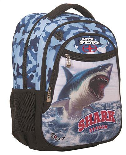 BMU Σακίδιο Πλάτης Οβάλ No Fear Ocean Shark
