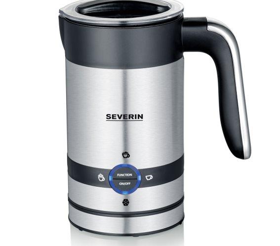 SEVERIN Αφροποιητής Γάλακτος 450W, 200ml Inox  - 3584SEV .