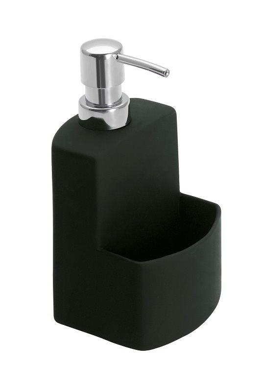 Wenko Επιτραπέζιο Dispenser Κουζίνας Κεραμικό 380ml Μαύρο Festival 362017121