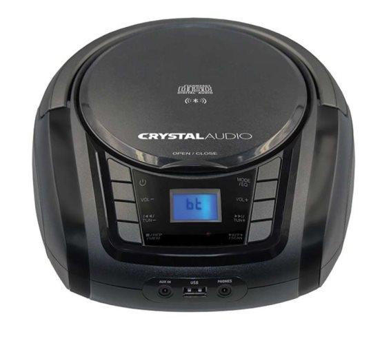 Crystal Audio BMBUB3 BT/CD/MP3/FM/USB Player Black