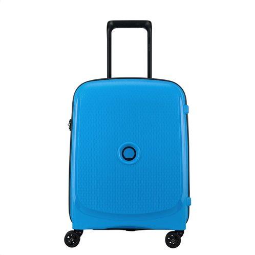 Delsey Βαλίτσα καμπίνας slim 55x40x20cm Belmont Plus Metalic Blue