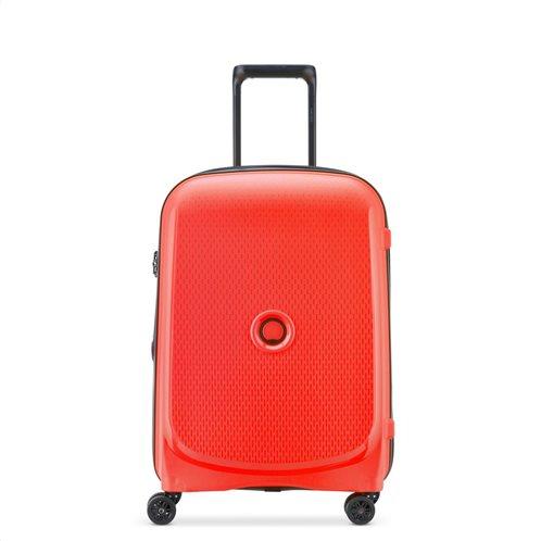 Delsey Βαλίτσα καμπίνας slim 55x40x20cm Belmont Plus Faded Red