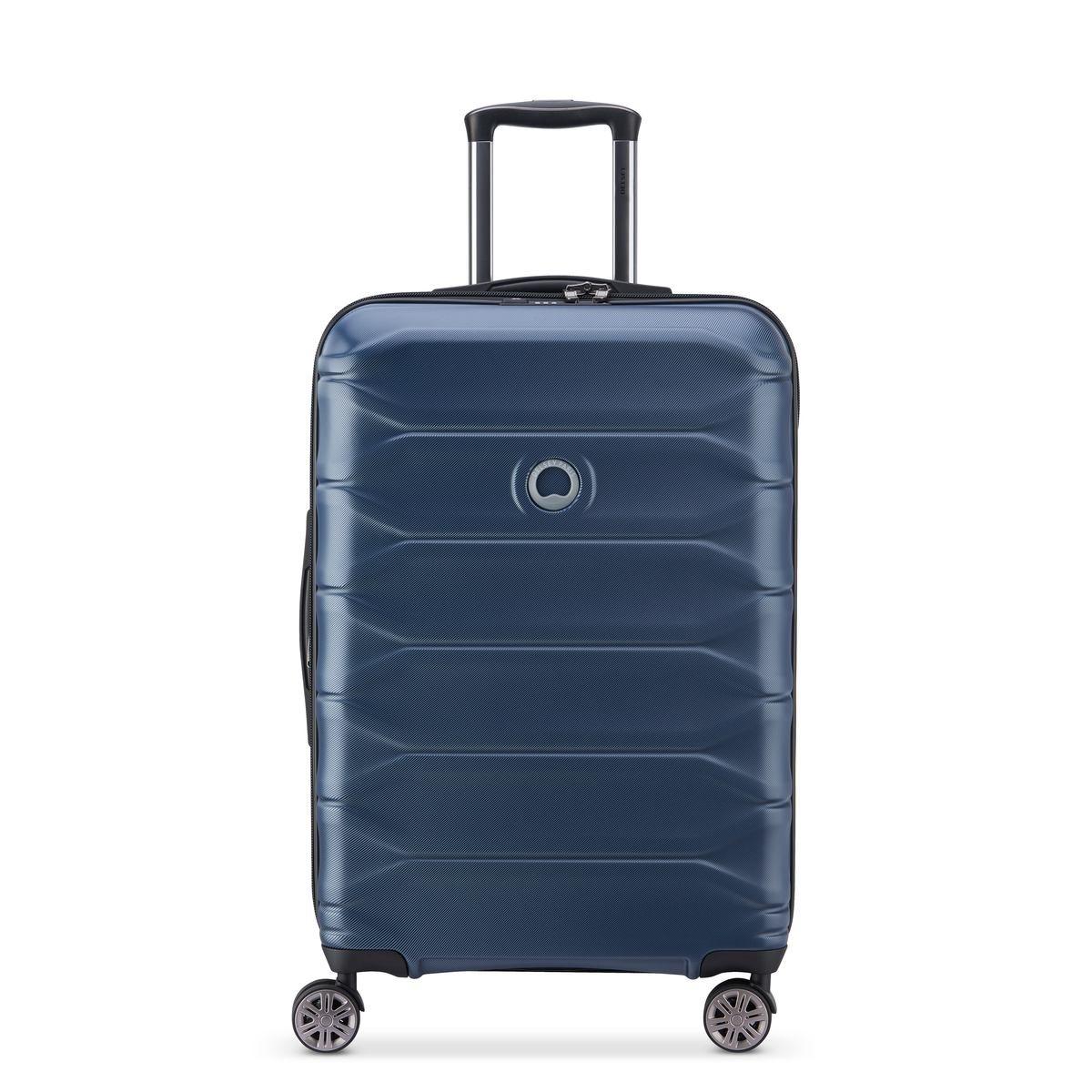 Delsey Βαλίτσα μεσαία expandable 68x44x26.5/29.5cm σειρά Meteor Blue