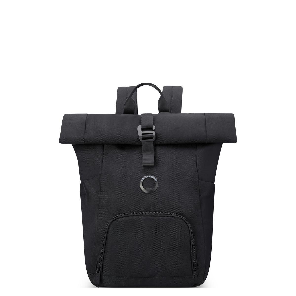 Delsey Σακίδιο πλάτης recycled 43.5x37.5x13.5cm για PC 15.6   σειρά Citypack Black