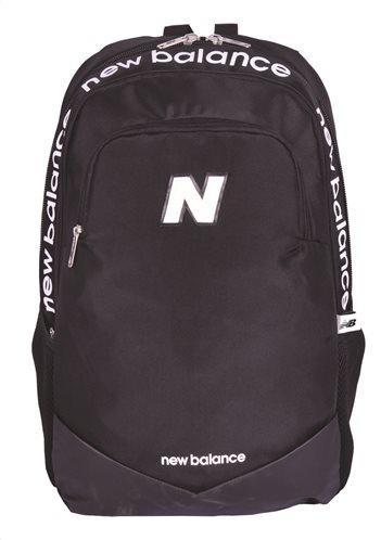 New Balance Τσάντα πλάτης Μαύρο με γράμματα