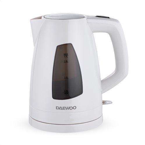 Daewoo Βραστήρας DEK-1324 2200W 1.7L Λευκό