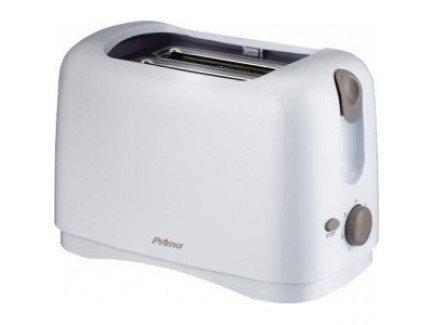 PRIMO Φρυγανιέρα 2 Θέσεων ΥΤ-6002 Λευκή/Γκρι