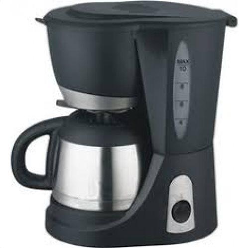 PRIMO Καφετιέρα Eco 1.0L WJ9003 Μαύρη/Inox