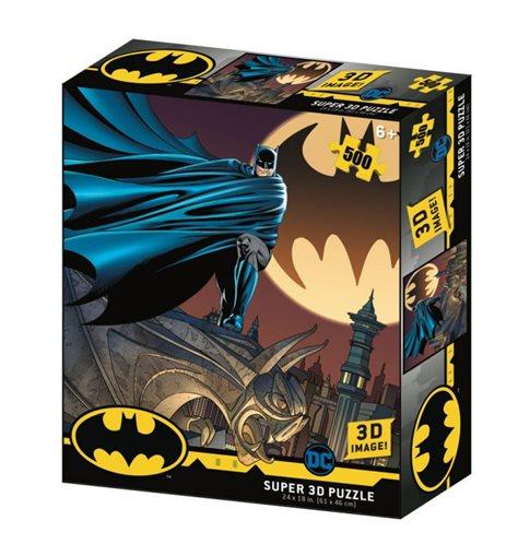 Prime3d Puzzle Bat Signal με Τρισδιάστατο Εφέ 500τμχ