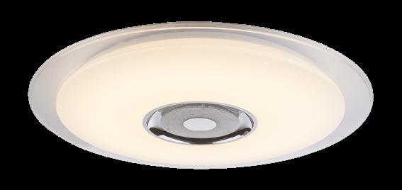 Globo Lighting Πλαφονιέρες TUNE μονόφωτο λευκό  1xLED