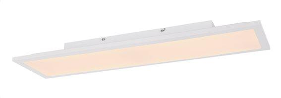 Globo Lighting Πλαφονιέρες DORO μονόφωτο λευκό  1xLED