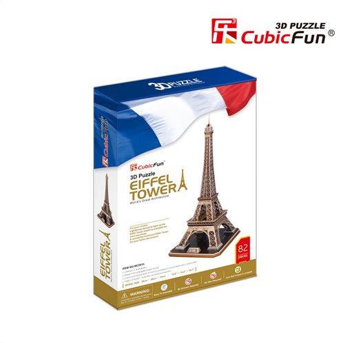 Cubic Fun 3D Puzzle Eiffel Tower 82τμχ
