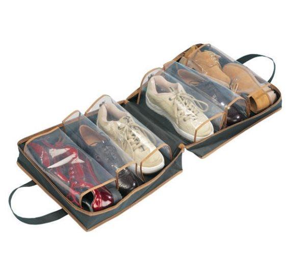 Wenko Θήκη Αποθήκευσης για Παπούτσια Υφασμάτινη 420401121 37.5x24.5x16.5cm