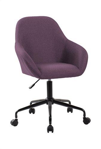 Καρέκλα Γραφείου Design Μώβ Ύφασμα