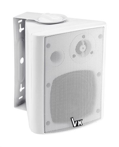 "VOICE KRAFT Ηχείο 501-DS-WH 4"" 2 δρόμων bass reflex 20W 8Ohm λευκό"