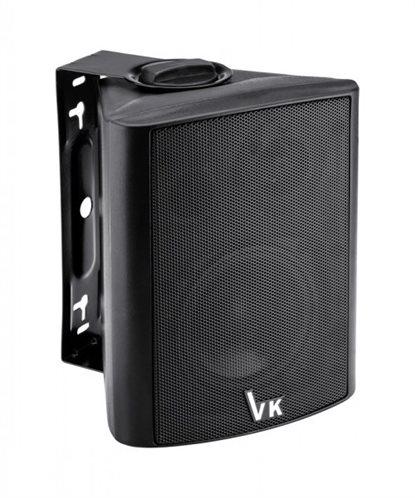 "VOICE KRAFT Ηχείο DS-501 4"" 2 δρόμων bass reflex 20W 8Ohm μαύρο"