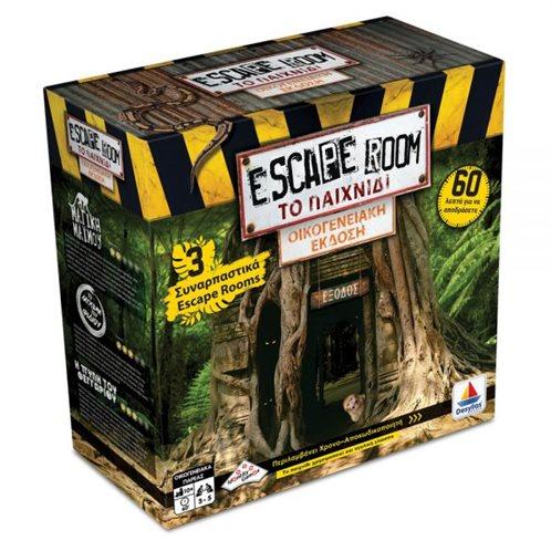 Desyllas Games Επιτραπέζιο Escape Room: Το Παιχνίδι Family Edition