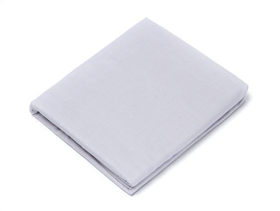 Laura Ashley Κατωσέντονο Υπέρδιπλο με λάστιχο Plain Silver