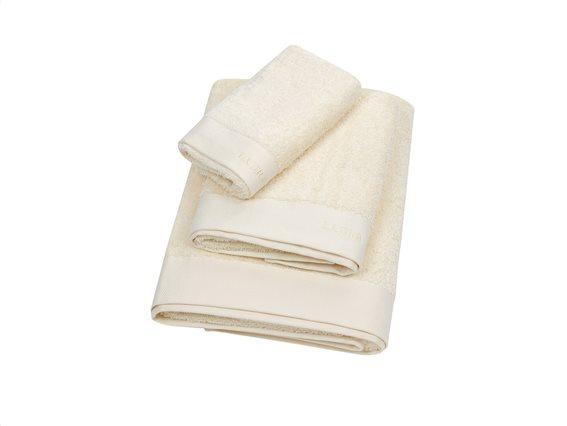 Laura Ashley Σετ Πετσέτες 3 Τεμαχίων Solid Cream