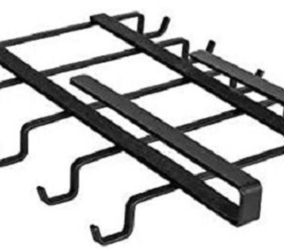 Wenko Βάση για Κούπες Μεταλλική σε Μαύρο Χρώμα Klea 53257100