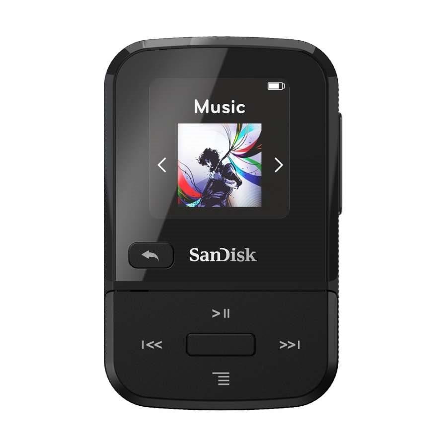 SanDisk Mp3 Player SDMX30-016G-E46K Clip Sport Go Black 16GB